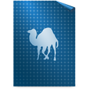 perl, Text Teal icon