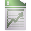 template, opendocument spreadsheet LightGray icon
