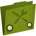 Folder OliveDrab icon