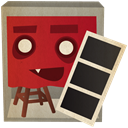 photobooth Firebrick icon
