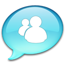 Messenger SkyBlue icon