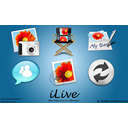 Ilive Teal icon