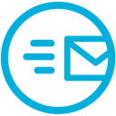 Mb, mail, sent DarkTurquoise icon