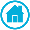 Mb, Home DarkTurquoise icon