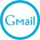 gmail, Mb DarkTurquoise icon