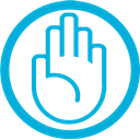 Mb, Hand DarkTurquoise icon