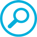 Mb, search DarkTurquoise icon
