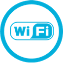 Mb, wi, Fi DarkTurquoise icon