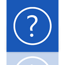 Mirror, help RoyalBlue icon