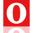 Opera, Mirror Red icon