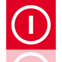 Mirror, Down, shut, power Crimson icon