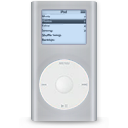 grey, ipod, mini Silver icon