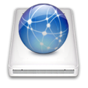 network, idisk SteelBlue icon