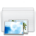 picture, Folder WhiteSmoke icon