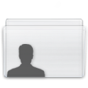 Folder, user Lavender icon