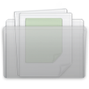 documents, Folder, Graphite Silver icon
