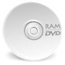 Dvd, ram, Device WhiteSmoke icon