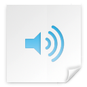 Clipping, sound WhiteSmoke icon