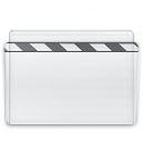 movie, Folder Lavender icon