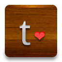 Tumblr, love SaddleBrown icon