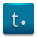 Tumblr DarkCyan icon