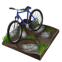 mountain, Px, cycling, Biking Black icon