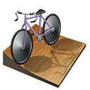 track, cycling, Px Black icon