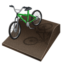 Px, Bmx, cycling Black icon