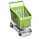 by, Cart Black icon