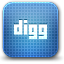 Digg, nerds, creative SteelBlue icon