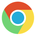 google, chrome, Browser SandyBrown icon