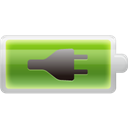 charged, Battery Black icon