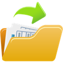 open, File Goldenrod icon