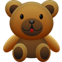 bear, teddy SaddleBrown icon