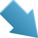 Downright SteelBlue icon