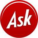 Ask DarkRed icon