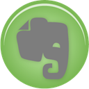 Evernote DarkSeaGreen icon