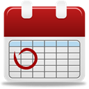 Calendar Gainsboro icon