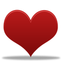 Hearts, Game Firebrick icon
