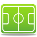 sport, Football, pitch YellowGreen icon