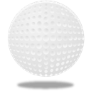 sport, Golf, Ball Gainsboro icon