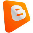 Blogspot OrangeRed icon