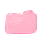Folder, Candy, Ak LightPink icon
