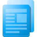 Articles, Lb LightSkyBlue icon