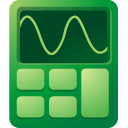 calculator DarkGreen icon