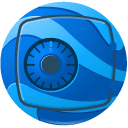 earth, enterprise DodgerBlue icon