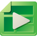 Ads, interactive, media ForestGreen icon