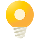 y, lightbulb Gold icon