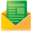 mail, Gmailthis SandyBrown icon