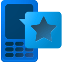Mobile, Ad, blb DodgerBlue icon